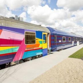 호스텔 - Train Lodge Amsterdam