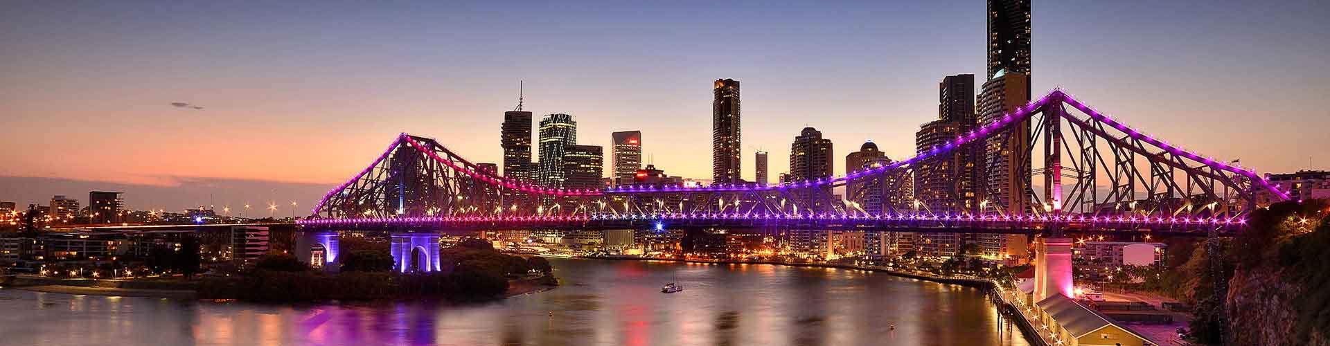 브리즈번 - Caxton Street지역에 위치한 아파트. 브리즈번의 지도, 브리즈번에 위치한 아파트에 대한 사진 및 리뷰.