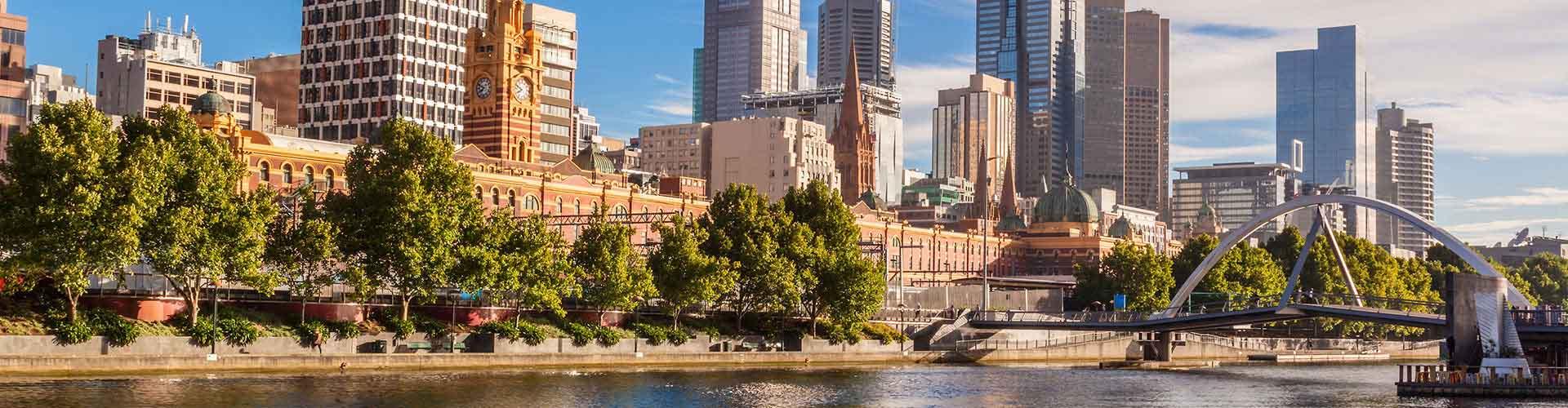 멜버른 - Melbourne지역에 위치한 호스텔. 멜버른의 지도, 멜버른에 위치한 호스텔에 대한 사진 및 리뷰.