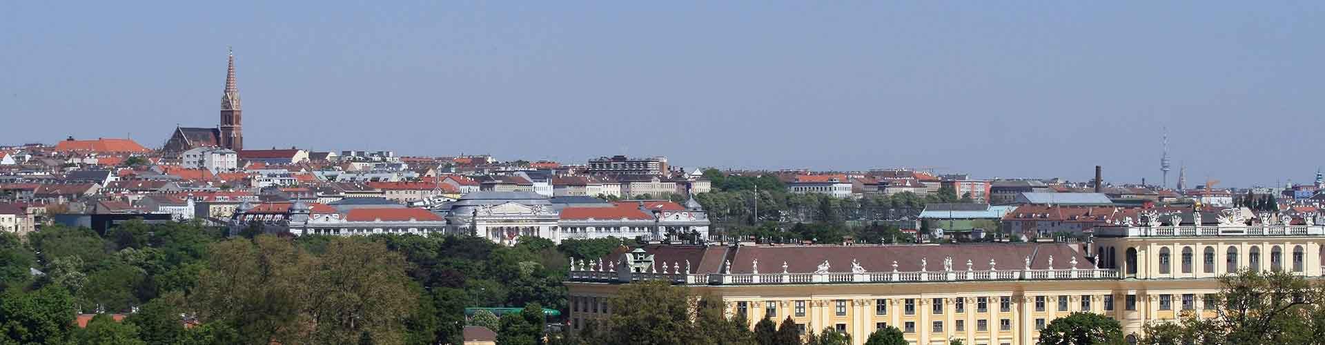 비엔나 - Rudolfsheim-Fuenfhaus 지구의 호스텔. 비엔나의 지도, 비엔나에 위치한 호스텔 사진 및 후기 정보.
