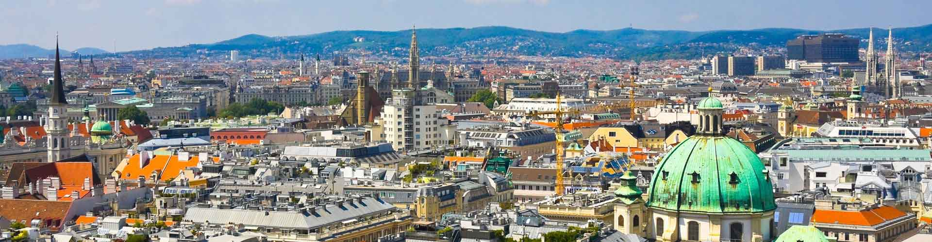 비엔나 - Mariahilf지역에 위치한 호스텔. 비엔나의 지도, 비엔나에 위치한 호스텔에 대한 사진 및 리뷰.
