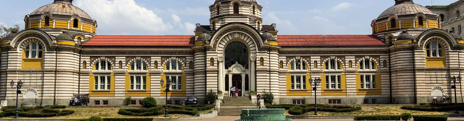 소피아 - Mladost지역에 위치한 호텔. 소피아의 지도, 소피아에 위치한 호텔에 대한 사진 및 리뷰.