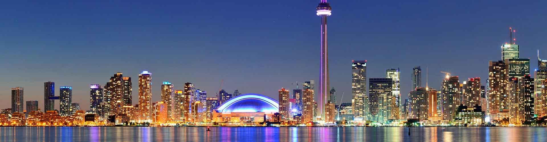 토론토 - Trinity Spadina 지구의 호스텔. 토론토의 지도, 토론토에 위치한 호스텔 사진 및 후기 정보.