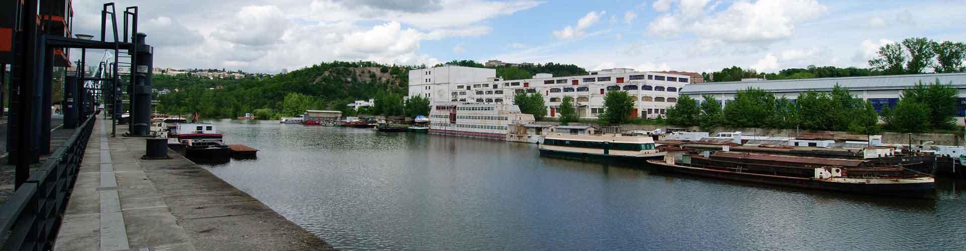 프라하 - Holesovice지역에 위치한 호텔. 프라하의 지도, 프라하에 위치한 호텔에 대한 사진 및 리뷰.
