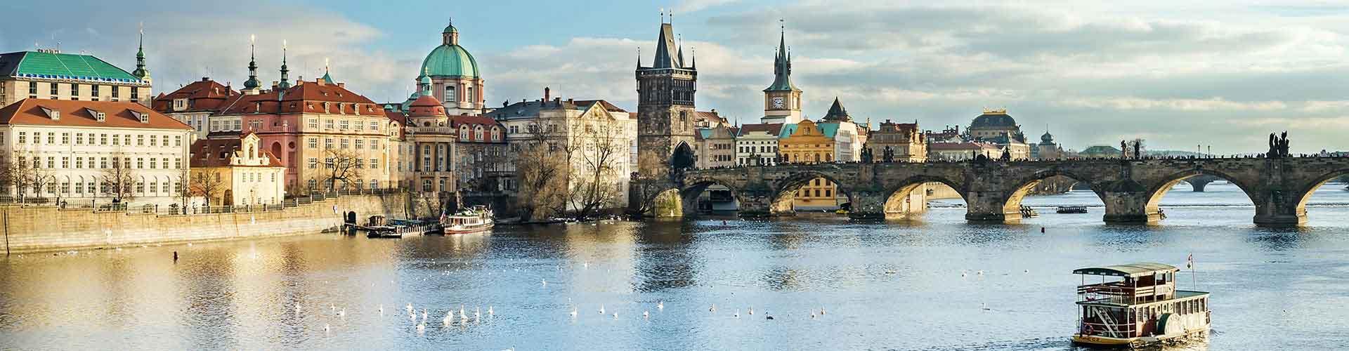 프라하 - Prague 1 지구의 호스텔. 프라하의 지도, 프라하에 위치한 호스텔 사진 및 후기 정보.