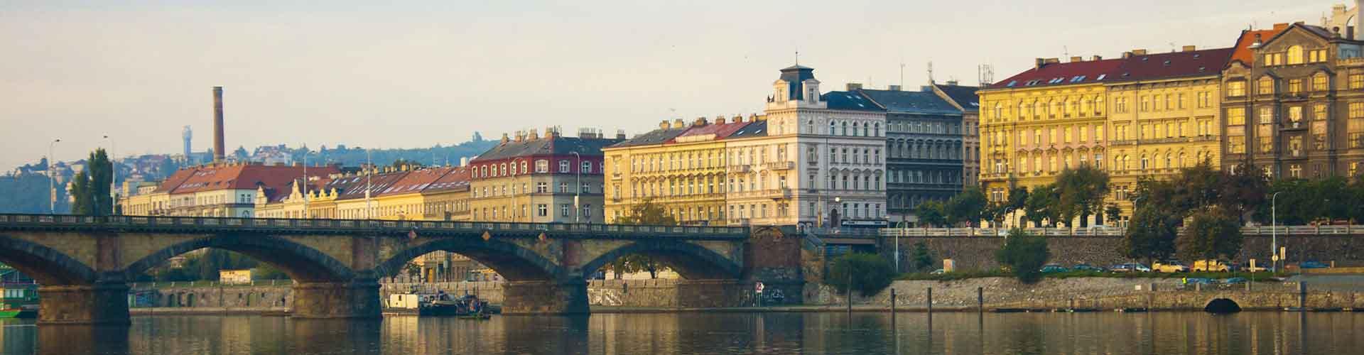프라하 - Prague 2지역에 위치한 호텔. 프라하의 지도, 프라하에 위치한 호텔에 대한 사진 및 리뷰.