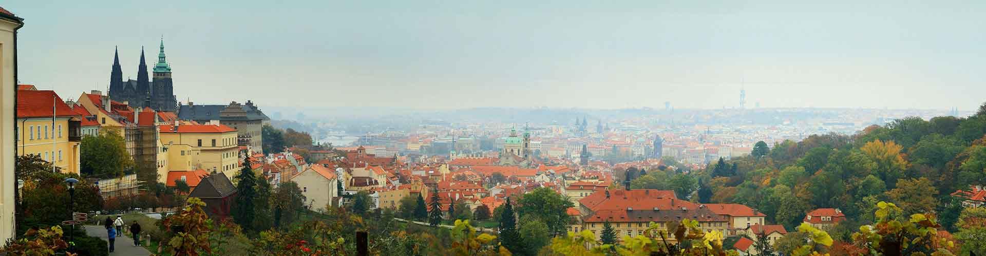 프라하 - Prague 3지역에 위치한 호텔. 프라하의 지도, 프라하에 위치한 호텔에 대한 사진 및 리뷰.