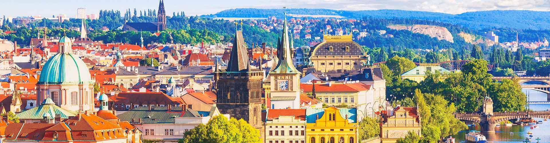 프라하 - Prague 12 지구의 호스텔. 프라하의 지도, 프라하에 위치한 호스텔 사진 및 후기 정보.