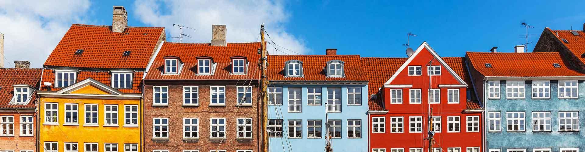 코펜하겐 - Vesterbro지역에 위치한 호텔. 코펜하겐의 지도, 코펜하겐에 위치한 호텔에 대한 사진 및 리뷰.