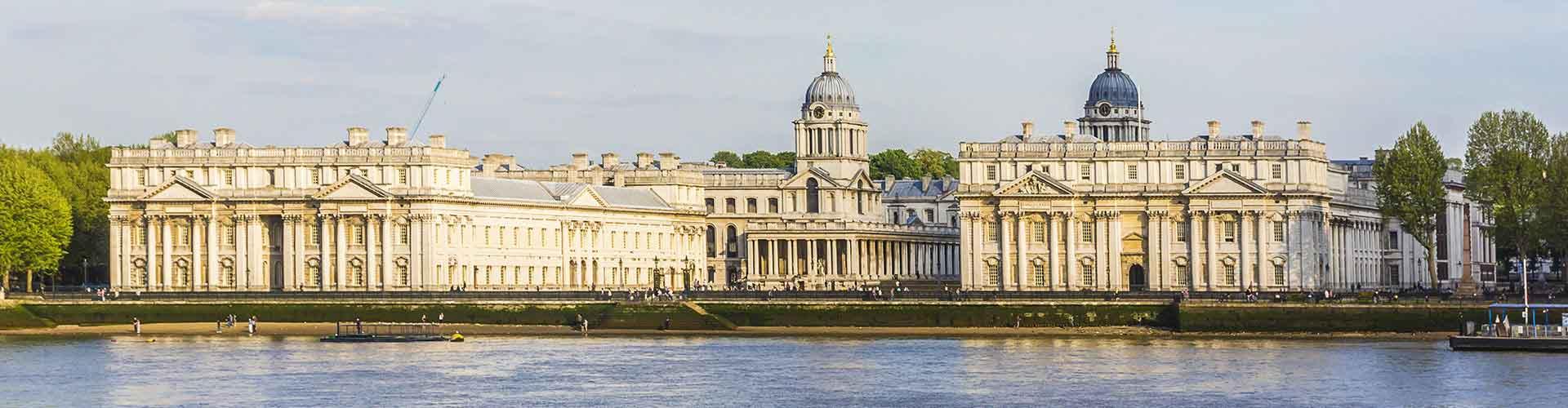 런던 - Borough of Greenwich지역에 위치한 호텔. 런던의 지도, 런던에 위치한 호텔에 대한 사진 및 리뷰.