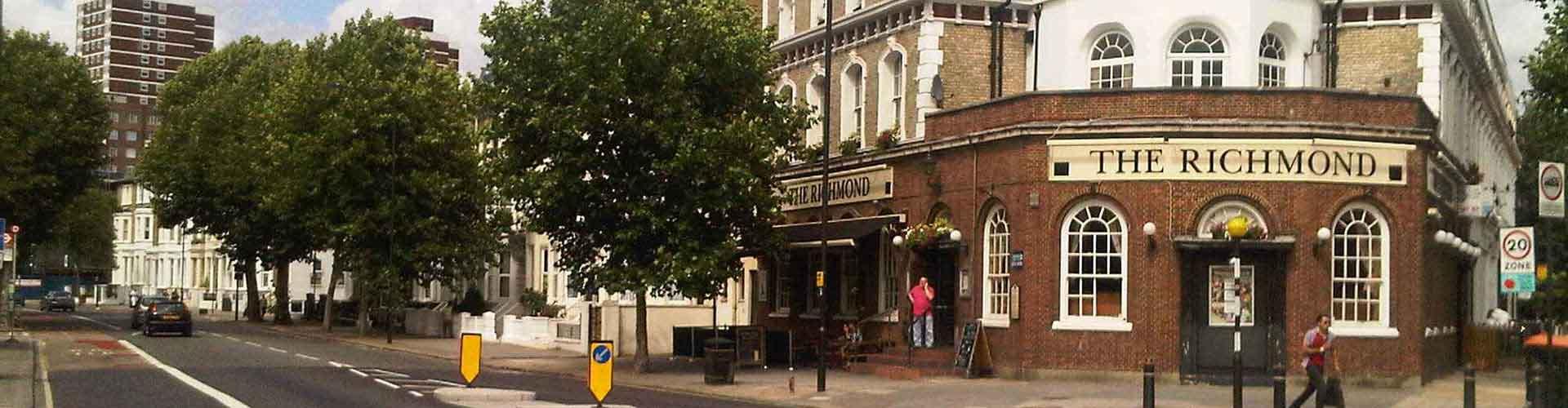 런던 - Borough of Hammersmith and Fulham지역에 위치한 아파트. 런던의 지도, 런던에 위치한 아파트에 대한 사진 및 리뷰.