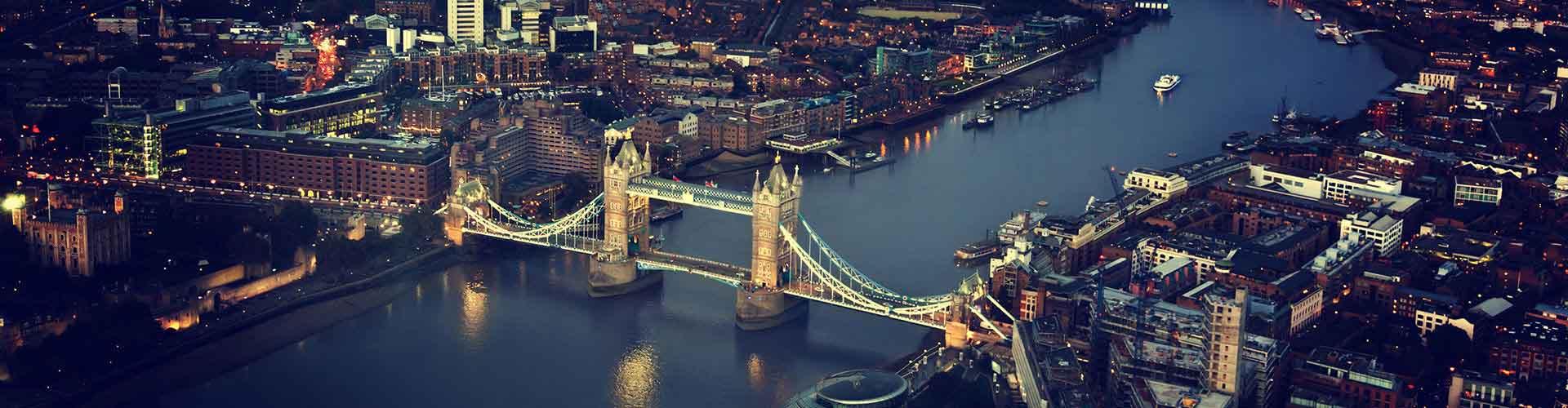 런던 - Borough of Southwark 지구의 호스텔. 런던의 지도, 런던에 위치한 호스텔 사진 및 후기 정보.