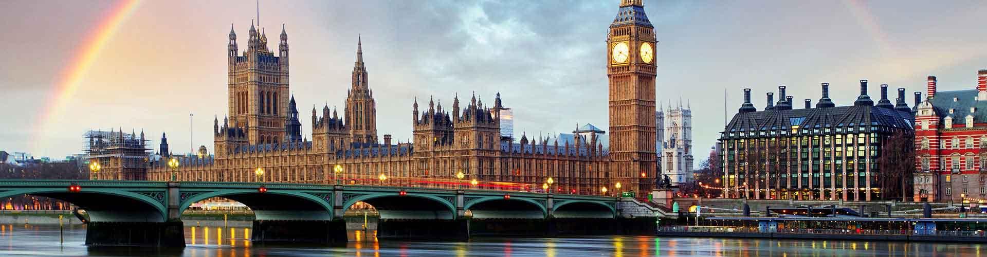 런던 - Borough of Westminster 지구의 호스텔. 런던의 지도, 런던에 위치한 호스텔 사진 및 후기 정보.