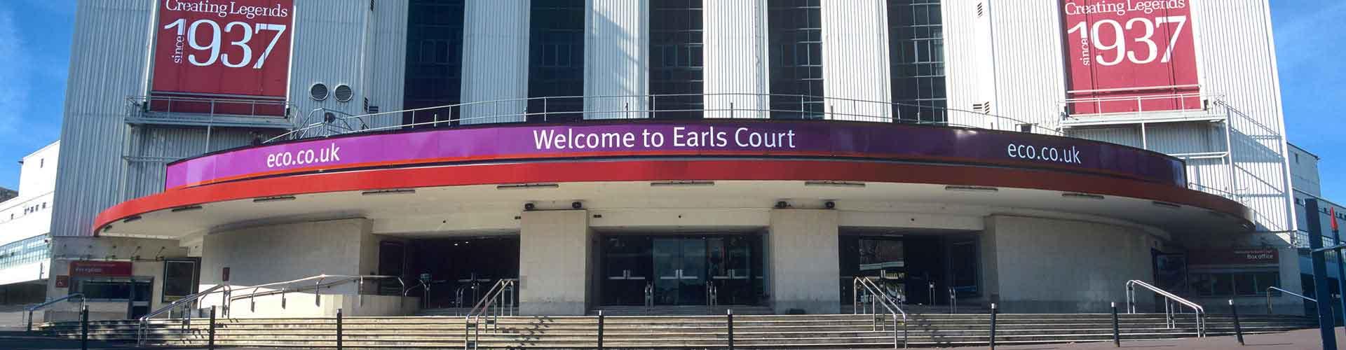 런던 - Earls Court 지구의 호스텔. 런던의 지도, 런던에 위치한 호스텔 사진 및 후기 정보.