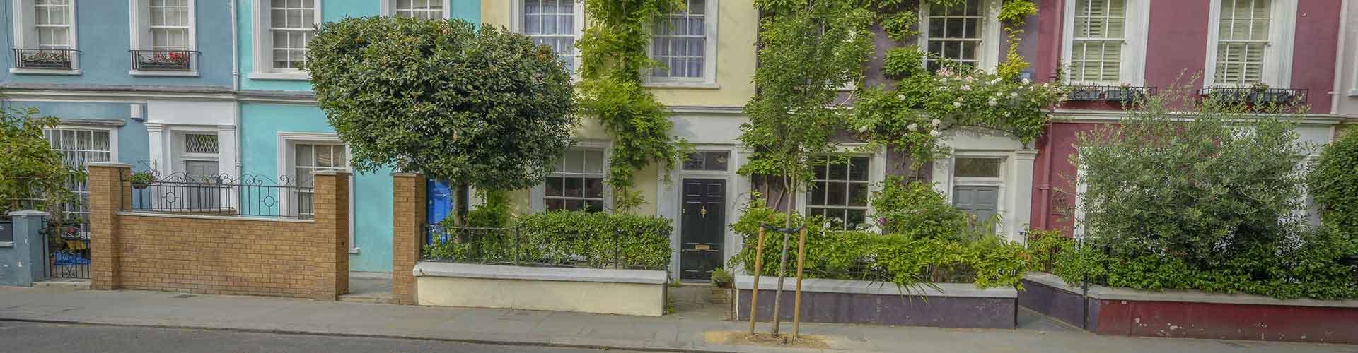 런던 - Notting Hill지역에 위치한 호텔. 런던의 지도, 런던에 위치한 호텔에 대한 사진 및 리뷰.