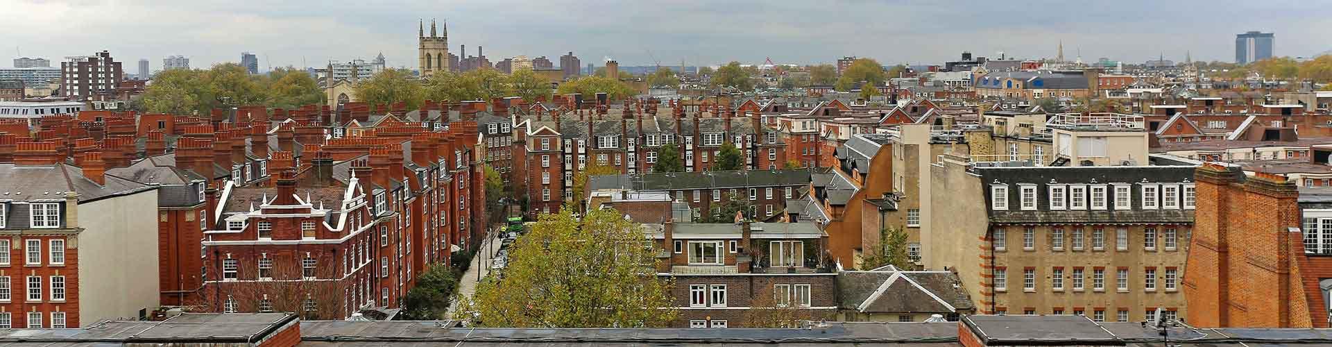 런던 - South Kensington 지구의 호스텔. 런던의 지도, 런던에 위치한 호스텔 사진 및 후기 정보.
