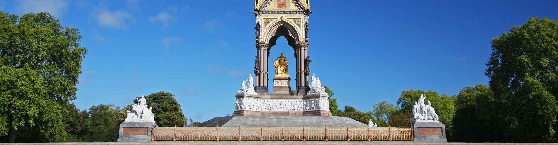 런던 - 앨버트 기념관에 가까운 호텔. 런던의 지도, 런던에 위치한 호텔에 대한 사진 및 리뷰.