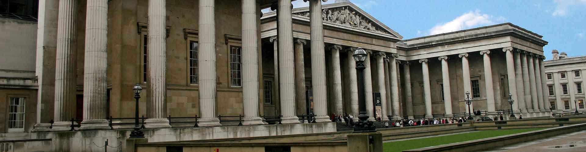 런던 - 대영 박물관와 가까운 호스텔. 런던의 지도, 런던에 위치한 호스텔 사진 및 후기 정보.