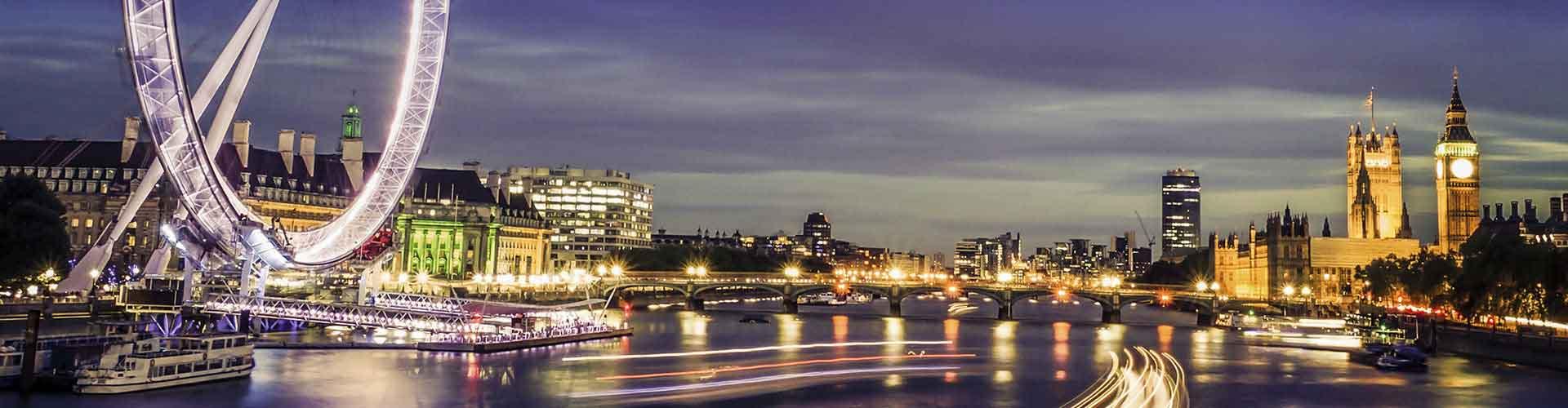 런던 - 런던 아이에 가까운 호텔. 런던의 지도, 런던에 위치한 호텔에 대한 사진 및 리뷰.