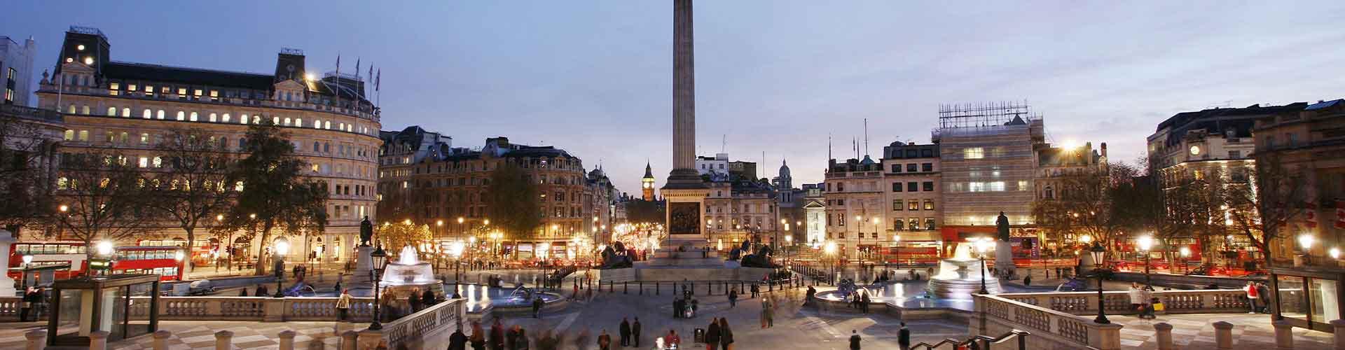 런던 - 넬슨 기념탑와 가까운 호스텔. 런던의 지도, 런던에 위치한 호스텔 사진 및 후기 정보.