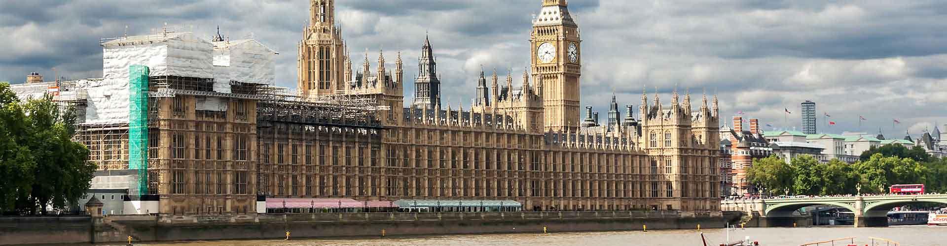 런던 - 웨스트 민스터의 궁전에 가까운 호스텔. 런던의 지도, 런던에 위치한 호스텔에 대한 사진 및 리뷰.