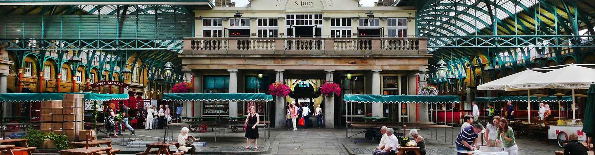 런던 - 코벤트 가든 광장에 가까운 호스텔. 런던의 지도, 런던에 위치한 호스텔에 대한 사진 및 리뷰.
