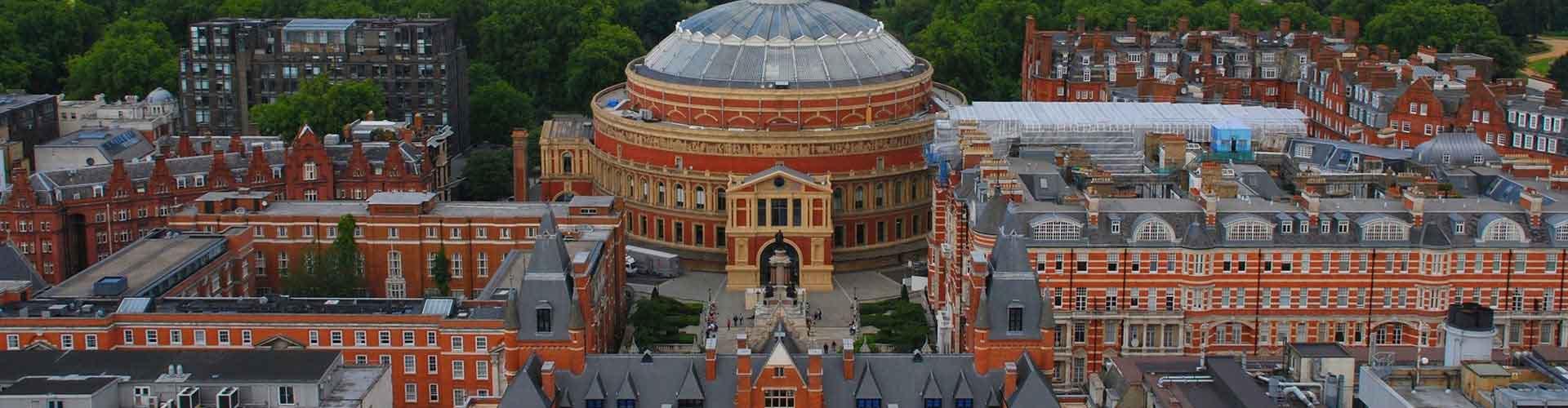 런던 - 로얄 알버트 홀에 가까운 호텔. 런던의 지도, 런던에 위치한 호텔에 대한 사진 및 리뷰.