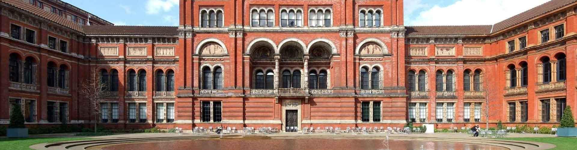 런던 - 빅토리아 & 앨버트 박물관와 가까운 호스텔. 런던의 지도, 런던에 위치한 호스텔 사진 및 후기 정보.