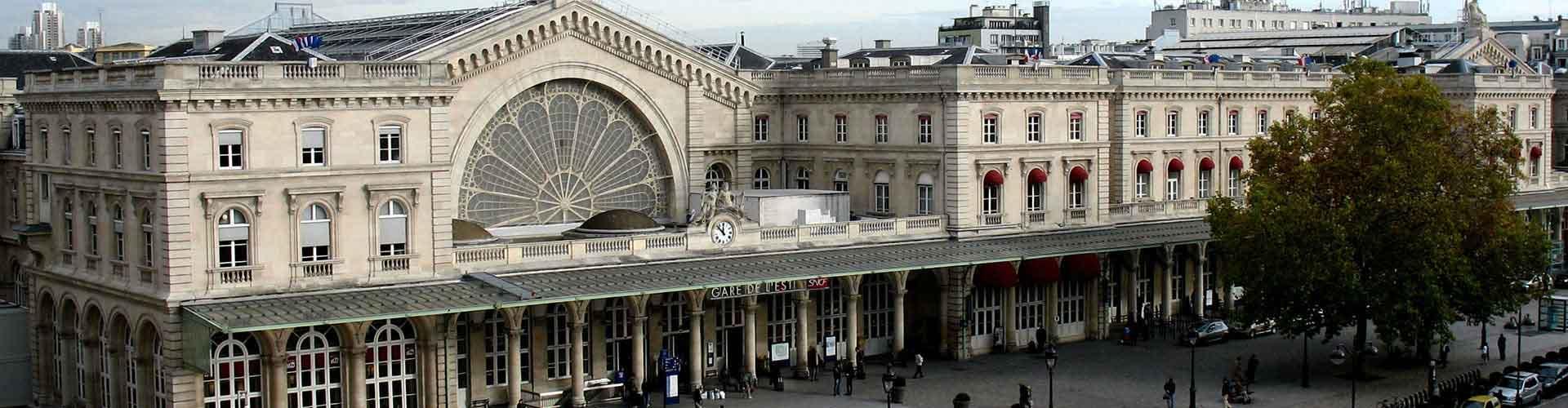 파리 - Gare de l'Est 지구의 호스텔. 파리의 지도, 파리에 위치한 호스텔 사진 및 후기 정보.
