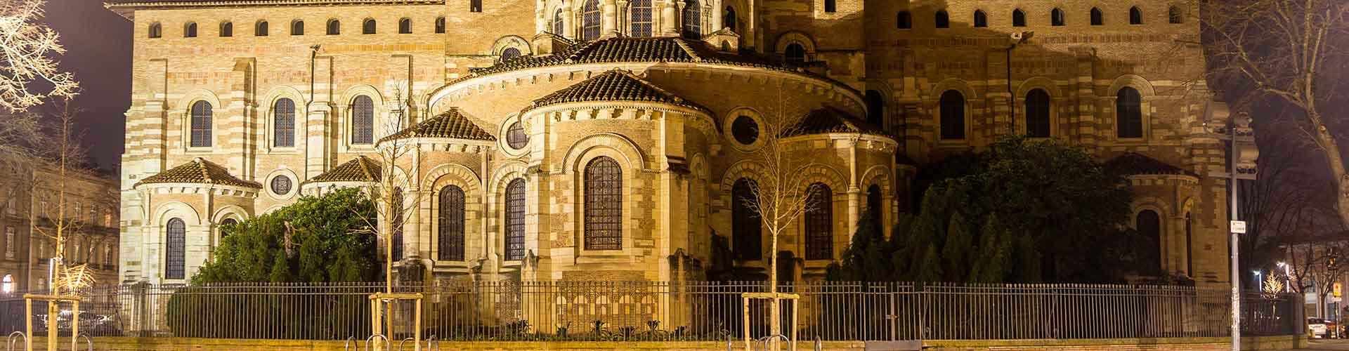 툴루즈 - Saint Sernin지역에 위치한 호텔. 툴루즈의 지도, 툴루즈에 위치한 호텔에 대한 사진 및 리뷰.