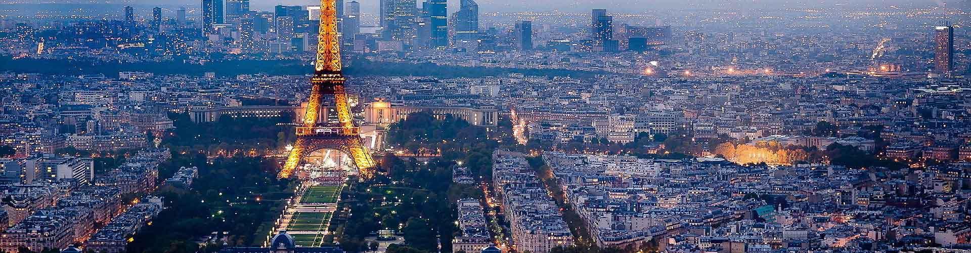 파리 - 시티 센터에 가까운 호텔. 파리의 지도, 파리에 위치한 호텔에 대한 사진 및 리뷰.