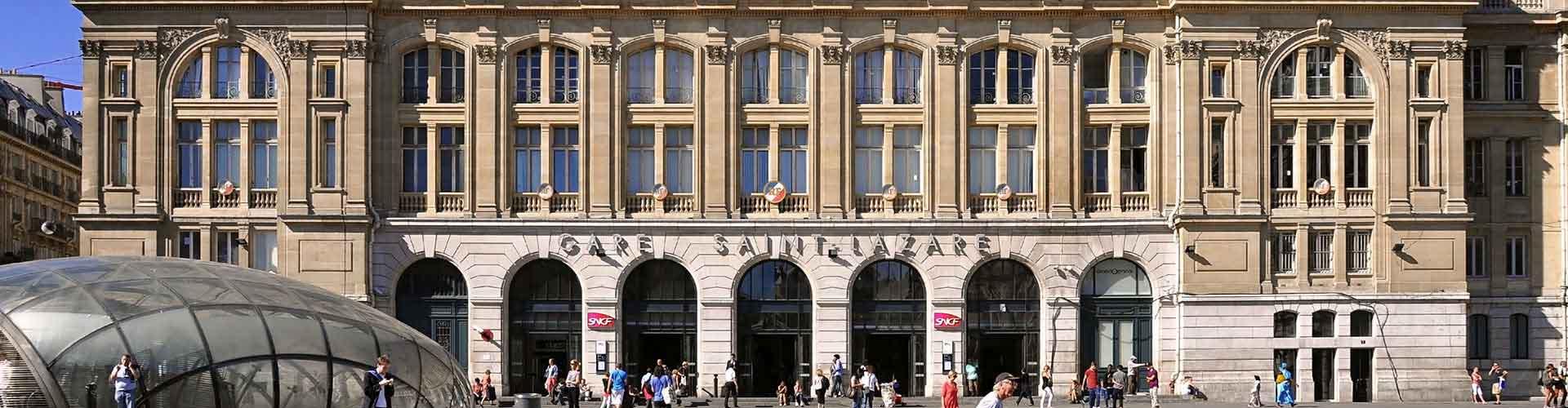 파리 - 생 라자르 역에 가까운 캠핑장. 파리의 지도, 파리에 위치한 캠핑장에 대한 사진 및 리뷰.