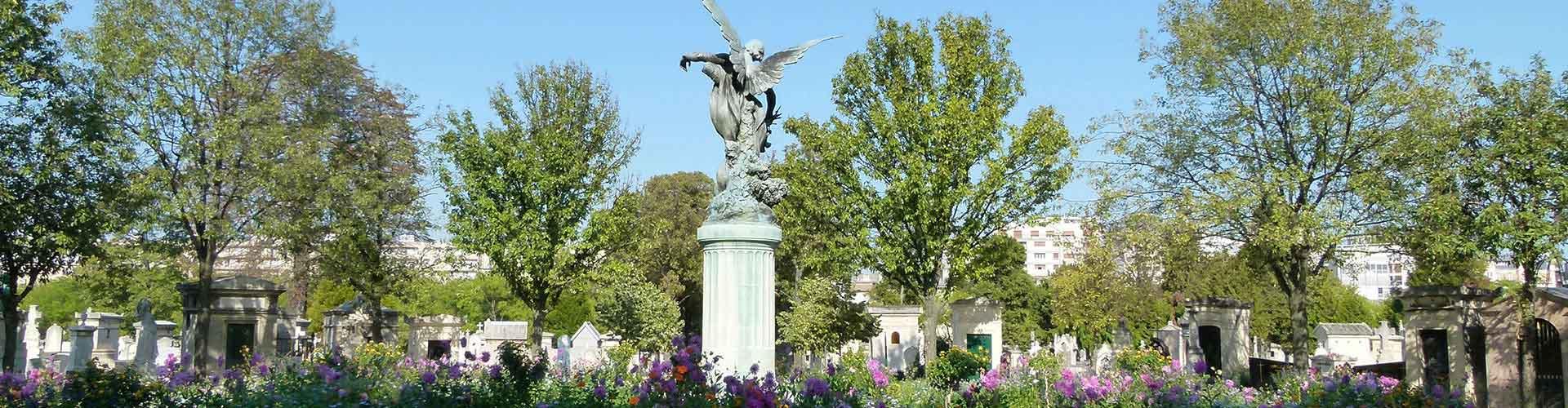 파리 - 몽파르나스 묘지에 가까운 호스텔. 파리의 지도, 파리에 위치한 호스텔에 대한 사진 및 리뷰.