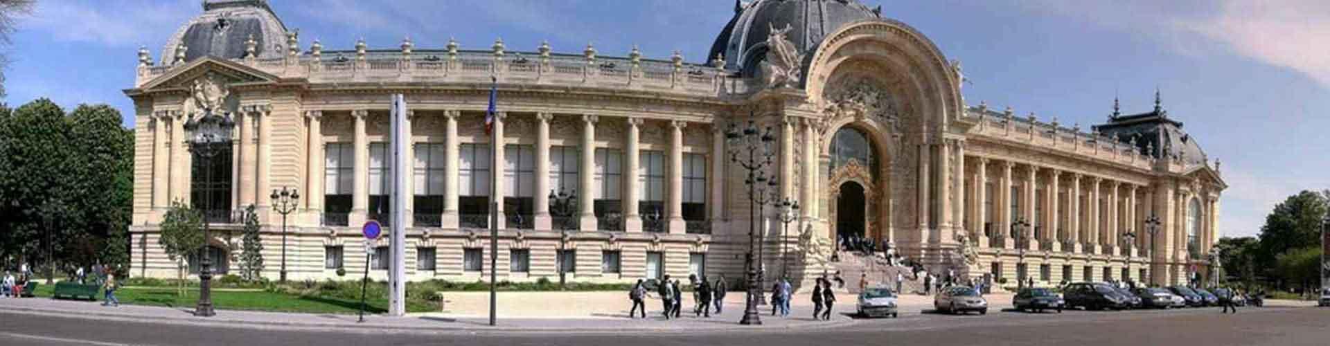 파리 - 쁘띠 팔레와 가까운 호스텔. 파리의 지도, 파리에 위치한 호스텔 사진 및 후기 정보.