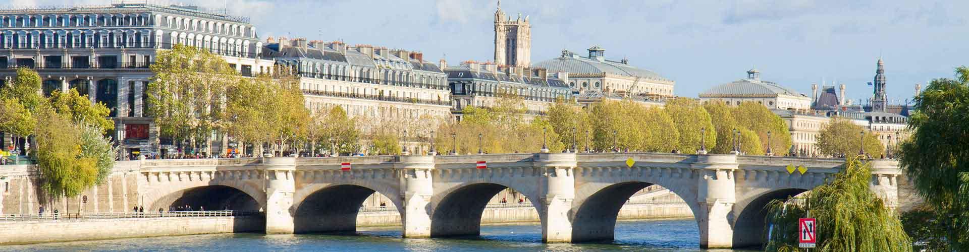 파리 - 퐁네프에 가까운 호스텔. 파리의 지도, 파리에 위치한 호스텔에 대한 사진 및 리뷰.