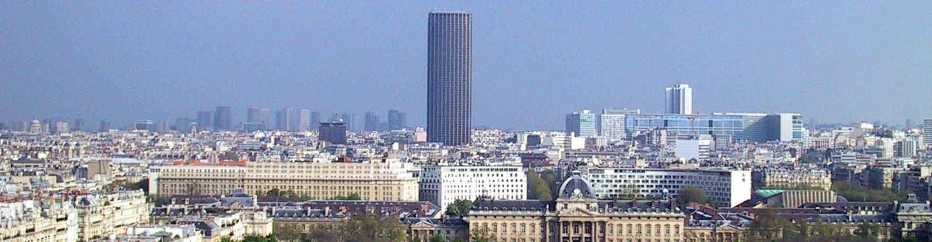 파리 - 투어 몽파르나스와 가까운 호스텔. 파리의 지도, 파리에 위치한 호스텔 사진 및 후기 정보.