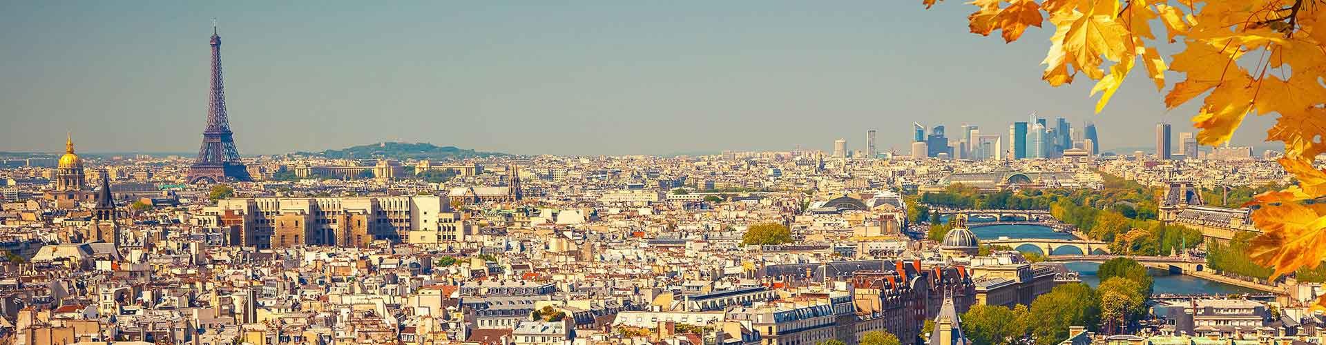 파리 - 파리에 있는 호스텔. 파리의 지도, 파리에 위치한 호스텔 사진 및 후기 정보.