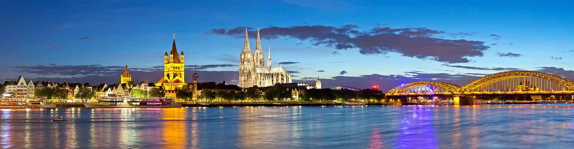 쾰른 - 쾰른에 있는 호스텔. 쾰른의 지도, 쾰른에 위치한 호스텔 사진 및 후기 정보.