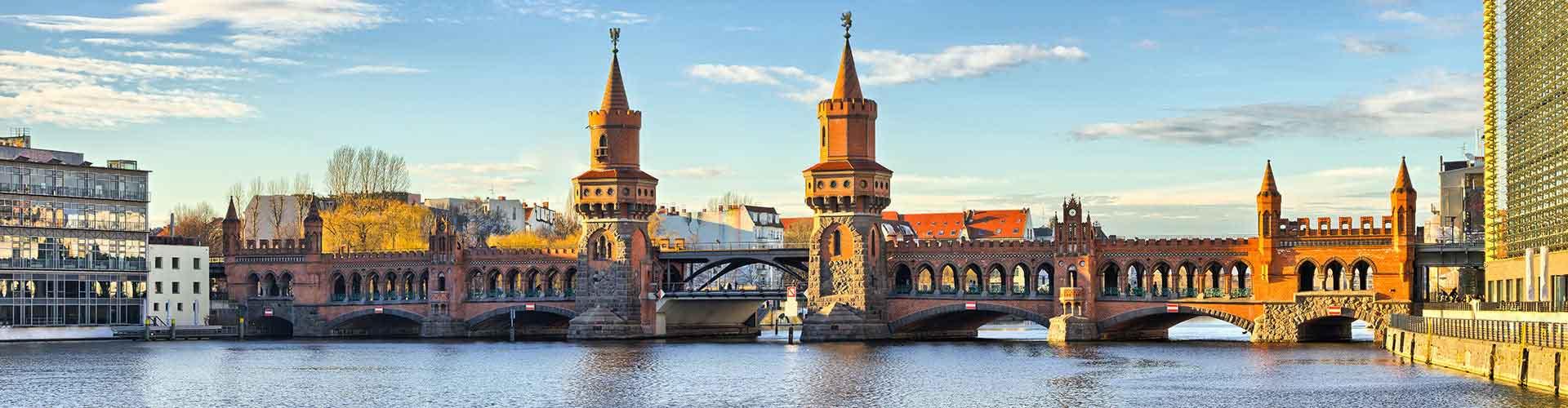베를린 - Berlin 지구의 호스텔. 베를린의 지도, 베를린에 위치한 호스텔 사진 및 후기 정보.
