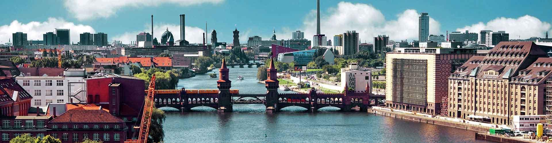 베를린 - Kreuzberg지역에 위치한 호텔. 베를린의 지도, 베를린에 위치한 호텔에 대한 사진 및 리뷰.