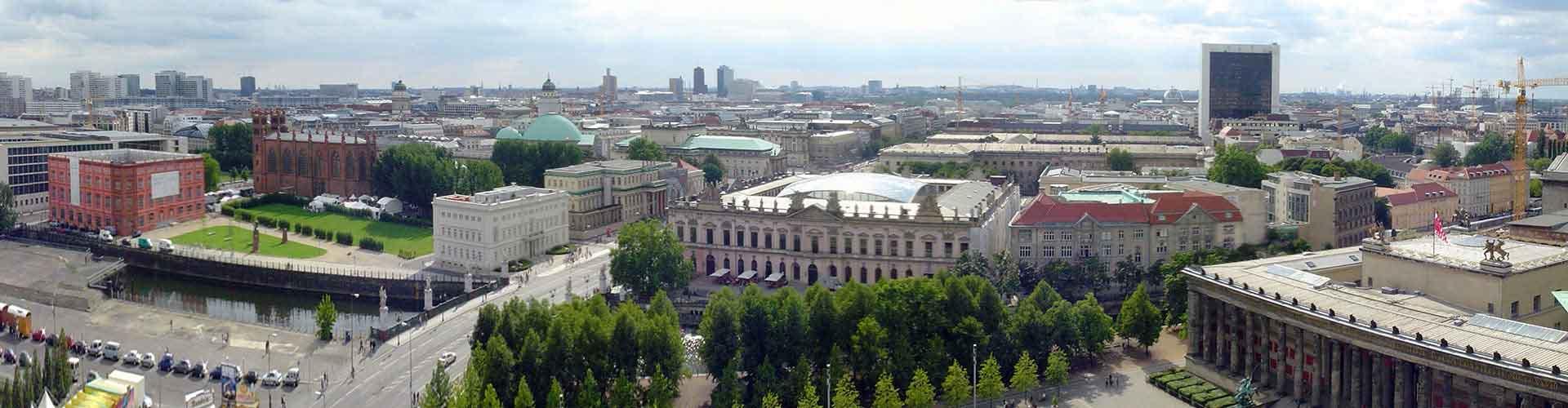 베를린 - Mitte지역에 위치한 호텔. 베를린의 지도, 베를린에 위치한 호텔에 대한 사진 및 리뷰.