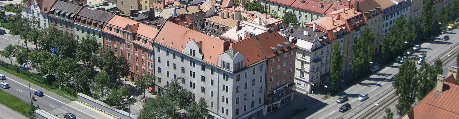 뮌헨 - Westend지역에 위치한 호텔. 뮌헨의 지도, 뮌헨에 위치한 호텔에 대한 사진 및 리뷰.