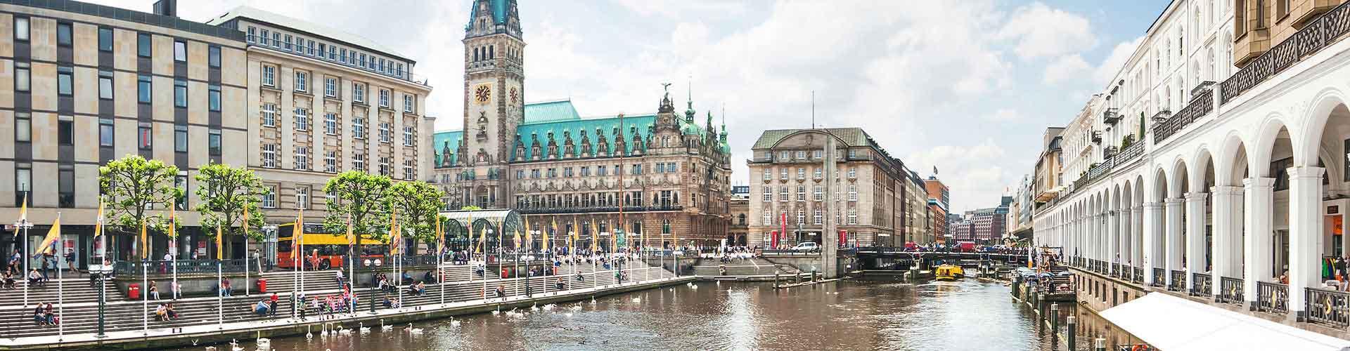 함부르크 - Eimsbuettel지역에 위치한 캠핑장. 함부르크의 지도, 함부르크에 위치한 캠핑장에 대한 사진 및 리뷰.