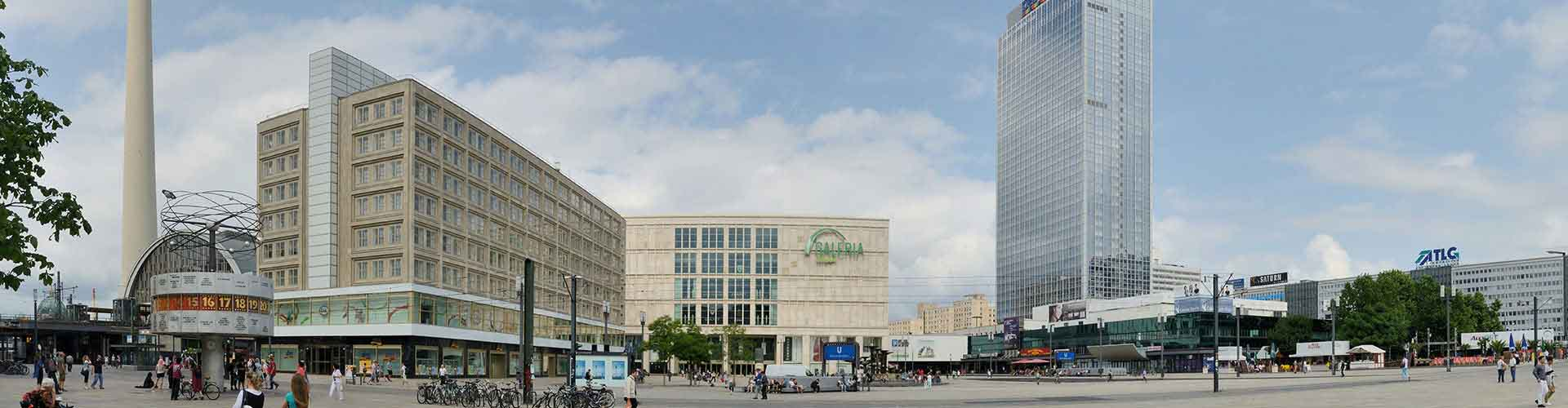 베를린 - 알렉산더 광장 와 가까운 호스텔. 베를린의 지도, 베를린에 위치한 호스텔 사진 및 후기 정보.