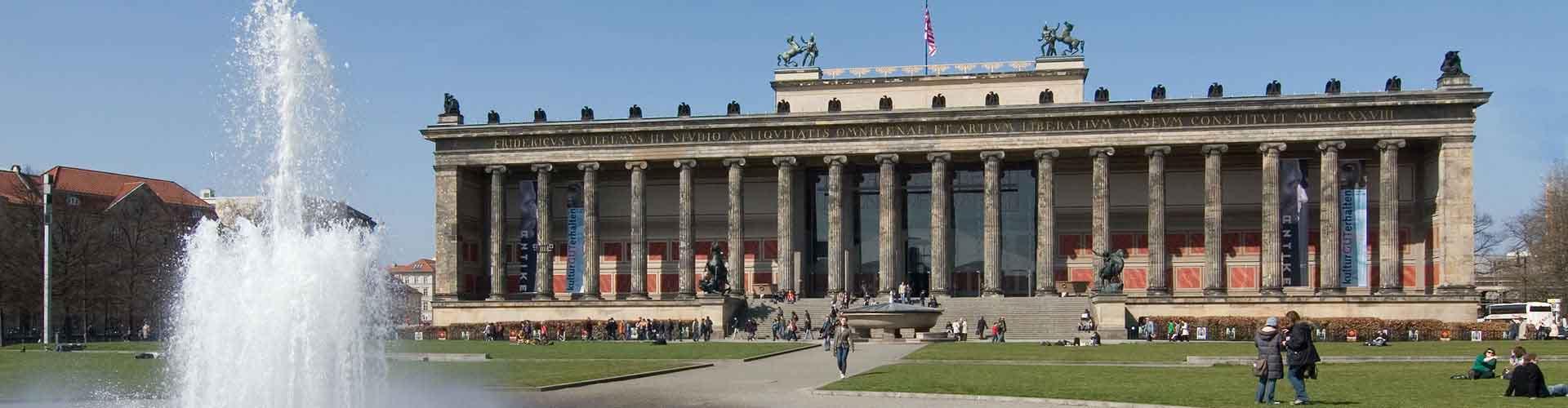 베를린 - 베를린 구 박물관과 페르가몬 박물관와 가까운 호스텔. 베를린의 지도, 베를린에 위치한 호스텔 사진 및 후기 정보.