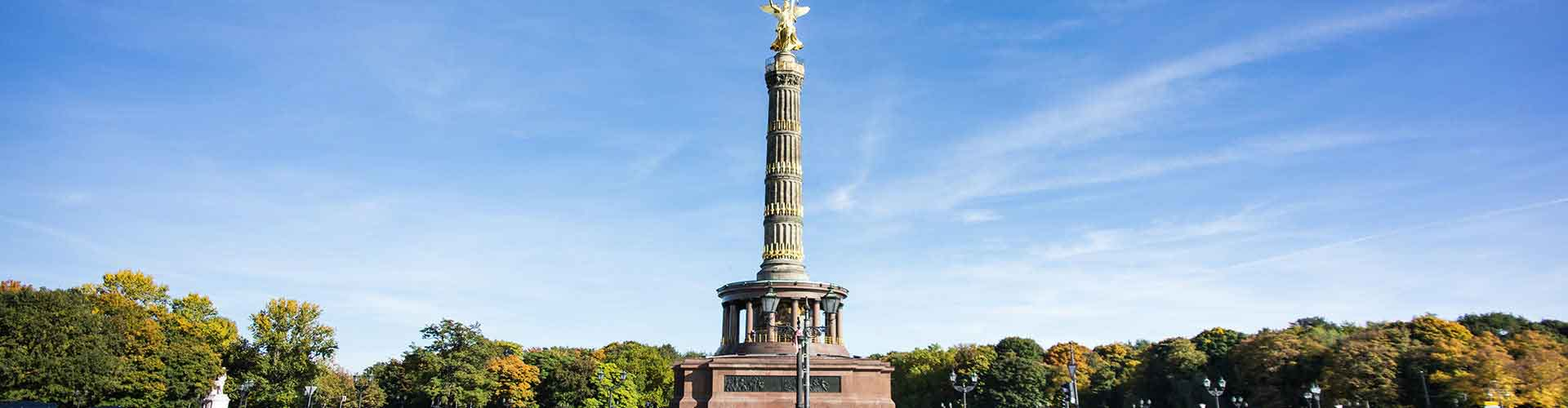 베를린 - 베를린 승리 칼럼에 가까운 호스텔. 베를린의 지도, 베를린에 위치한 호스텔에 대한 사진 및 리뷰.