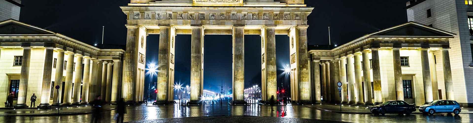 베를린 - 브란덴부르크 문에 가까운 호스텔. 베를린의 지도, 베를린에 위치한 호스텔에 대한 사진 및 리뷰.