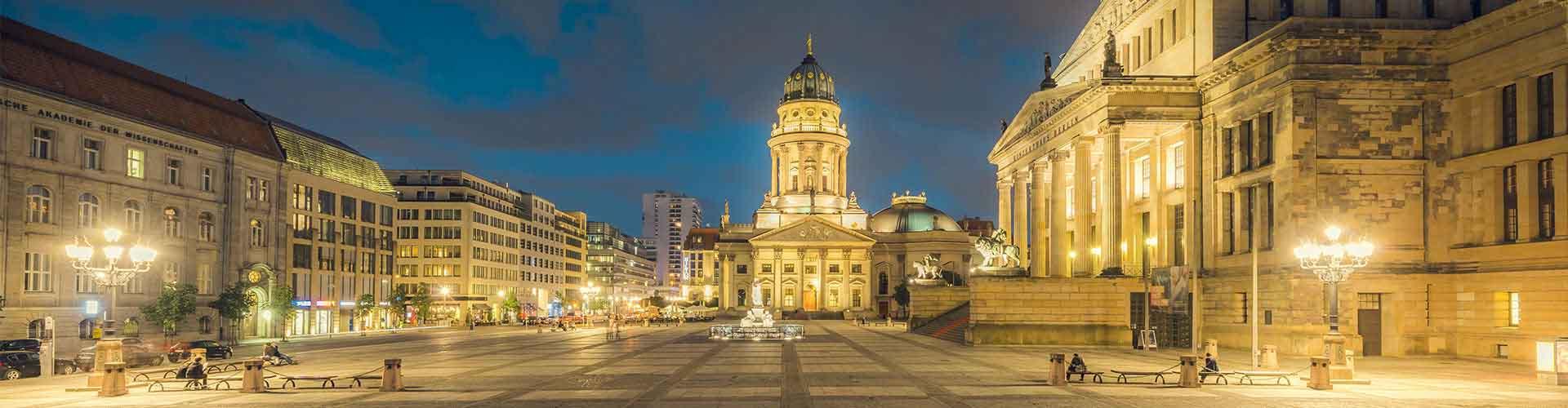 베를린 - 젠다르멘 광장에 가까운 캠핑장. 베를린의 지도, 베를린에 위치한 캠핑장에 대한 사진 및 리뷰.