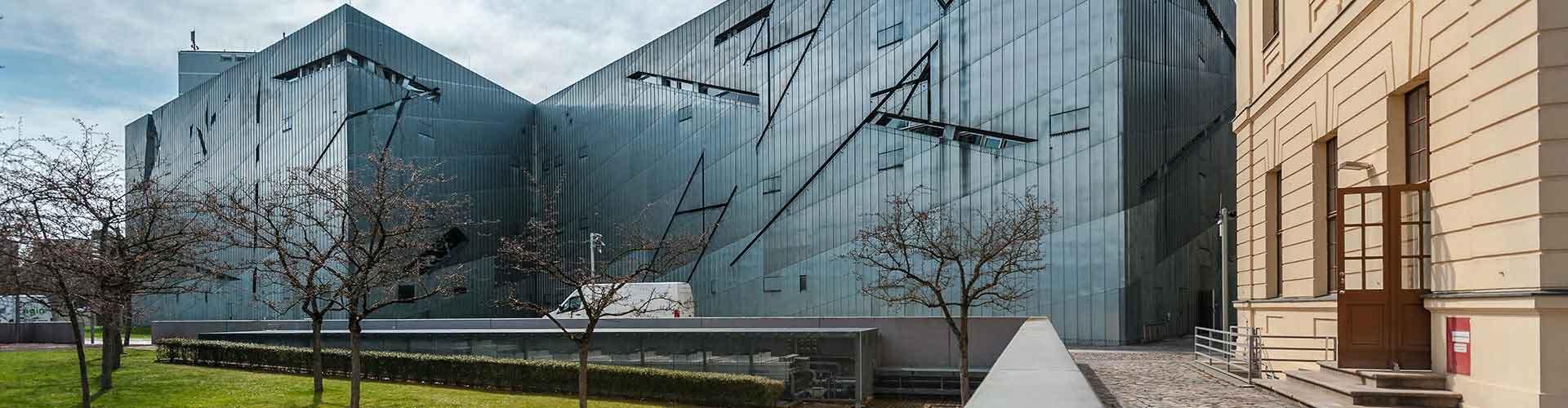 베를린 - 베를린 유대인 박물관 에 가까운 호스텔. 베를린의 지도, 베를린에 위치한 호스텔에 대한 사진 및 리뷰.