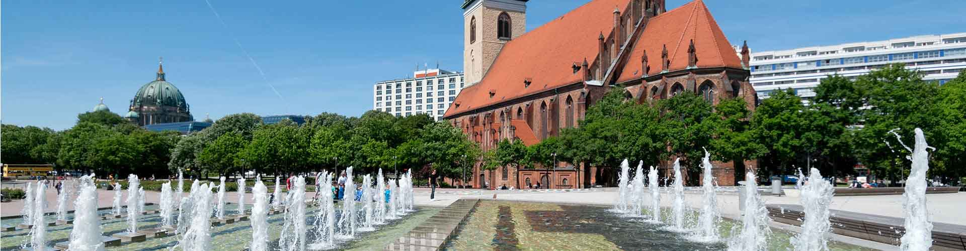 베를린 - 마리엔 교회에 가까운 호텔. 베를린의 지도, 베를린에 위치한 호텔에 대한 사진 및 리뷰.
